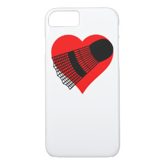 Badminton Heart iPhone 8/7 Case