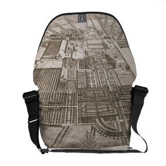 Badminton House in the County of Gloucester, engra Courier Bag