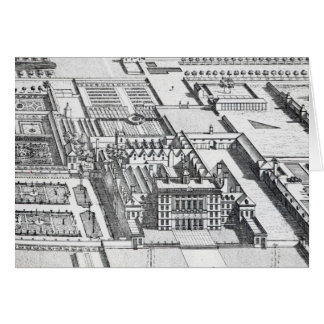 Badminton House on the County of Gloucester Greeting Card