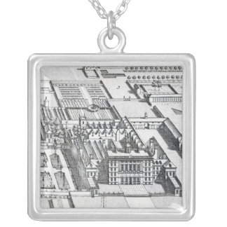 Badminton House on the County of Gloucester Square Pendant Necklace