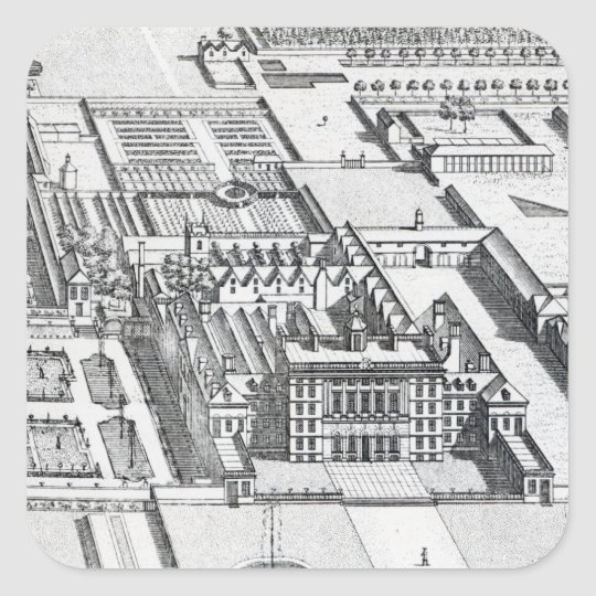 Badminton House on the County of Gloucester Square Sticker