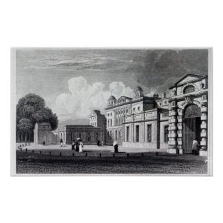 Badminton House Poster