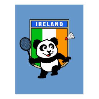 Badminton Ireland Panda Postcard