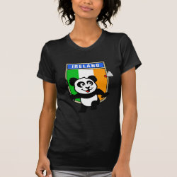 Ireland Badminton Panda Women's American Apparel Fine Jersey Short Sleeve T-Shirt