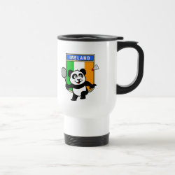 Travel / Commuter Mug with Ireland Badminton Panda design