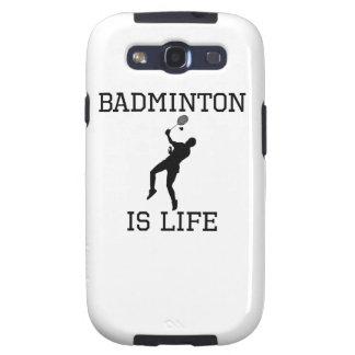 Badminton Is Life Samsung Galaxy SIII Case