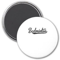 Badminton Magnet