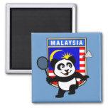 Badminton Malaysia Panda Refrigerator Magnet