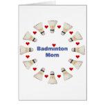 Badminton Mom Hearts Cards