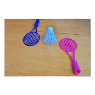 Badminton Art Photo