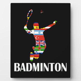 Badminton Plaque