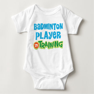 Badminton Player Baby Baby Bodysuit