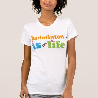 Badminton Player Gift Girls T-Shirt
