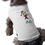Badminton Player T-shirts and Gifts Dog Tshirt