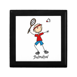 Badminton Player T-shirts and Gifts Gift Boxes