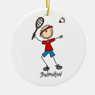Badminton Player T-shirts and Gifts Christmas Ornament