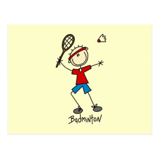Badminton Player T-shirts and Gifts Postcard