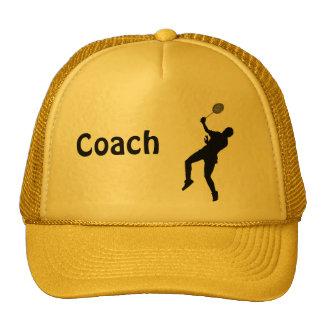 Badminton player trucker hat