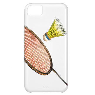 Badminton racket and shuttlecock case for iPhone 5C