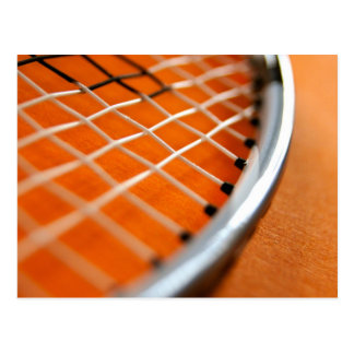 Badminton Racket Post Cards