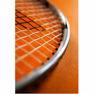 Badminton Racket Statuette