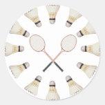 Badminton Rackets Sticker
