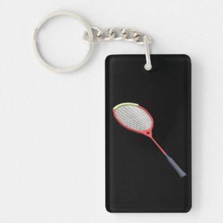 Badminton Racquet Keychain