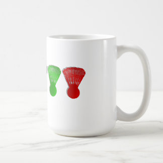 badminton shuttlecock  sports coffee mug