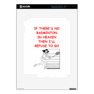 badminton skin for iPad 2