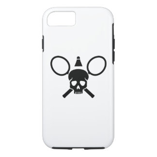 Badminton skull iPhone 8/7 case