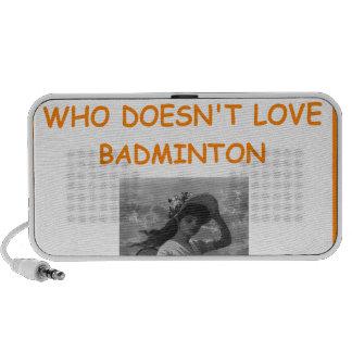 BADMINTON iPhone SPEAKER