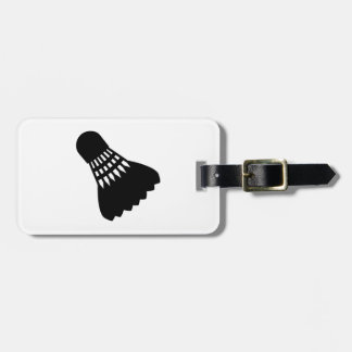 Badminton sports shuttlecock tags for luggage