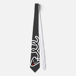 Badminton tie gift for players and enthusiasts