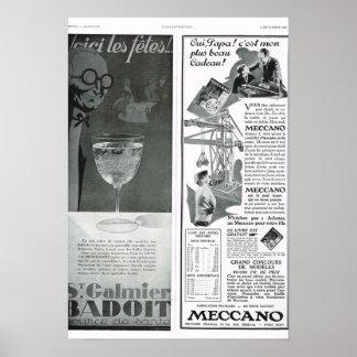 Badoit, Meccano Print