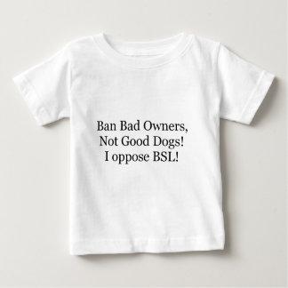 badowners.jpg baby T-Shirt