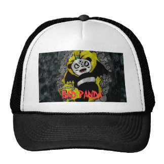 badpandaflat copy, BAD PANDA Hats