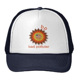 BadPolluter Logo 2 copy Trucker Hat