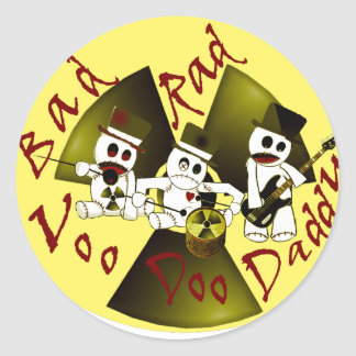 BadRadVoodooDaddy Items Available Classic Round Sticker