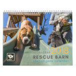 BADRAP 2018 Rescue Barn Shenanigans! Calendar<br><div class='desc'>Your favorite faces from BADRAP&#39;s Adoption Program. Celebrate their happiness every month of the year.</div>