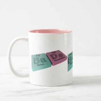 Bads as Ba Barium and Ds Darmstadtium Coffee Mugs