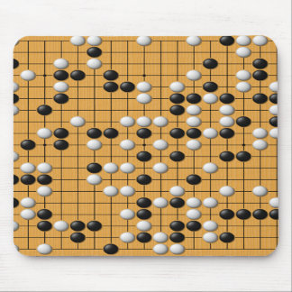 Baduk/Go game mouse pad