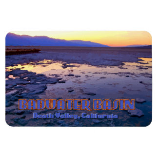 Badwater Basin ~ Death Valley, California Magnet