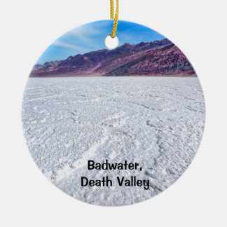 Badwater Ceramic Ornament