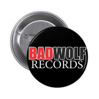 BADWOLF records official merchandise Button