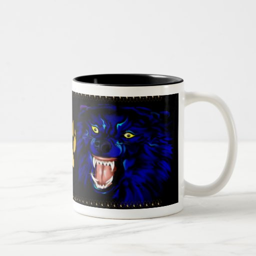 BadWolfCupsP Two-Tone Coffee Mug