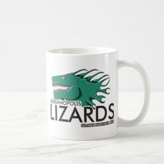 Badzilla mascot coffee mug