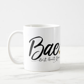 Bae Best Aunt Ever Coffee Mug