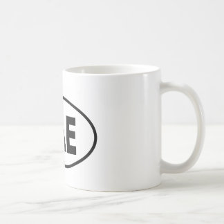 BAE CLASSIC WHITE COFFEE MUG