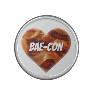 BAE-CON - For Bacon Lovers Everywhere Bluetooth Speaker