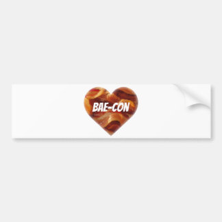 BAE-CON - For Bacon Lovers Everywhere Bumper Sticker